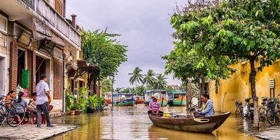 Explore the charming riverside town of Hoi An