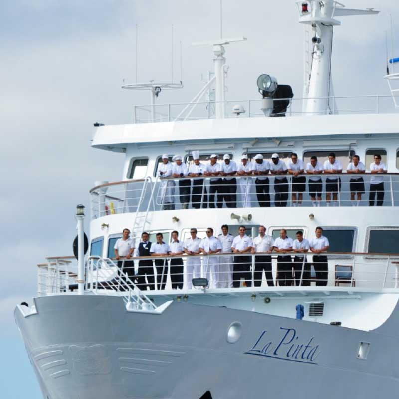 Yacht La Pinta. Eastern Galapagos Islands Exploration Cruise.