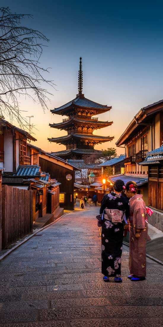 Japan holidays. Destination highlights and travel information