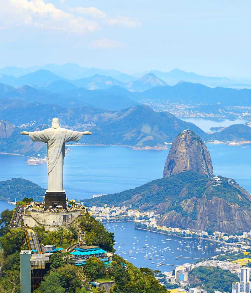Tour independiente Río de Janeiro, Iguassu, Pantanal