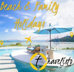 Travelisto Beach and Family Holidays Brochure Cover