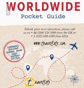 Travelisto Brochuce Worldwid Pocket Guide Cover